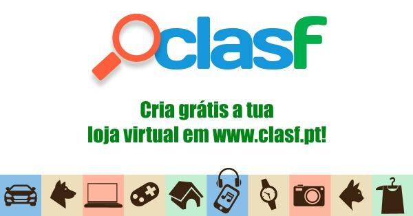 Cria grátis a tua loja virtual em Clasf Portugal