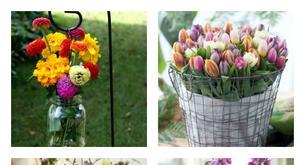 Ideias para decorar o teu jardim nesta primavera