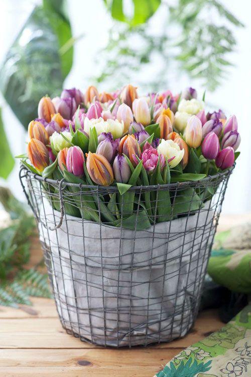 Decoração Primavera Vaso de Flores