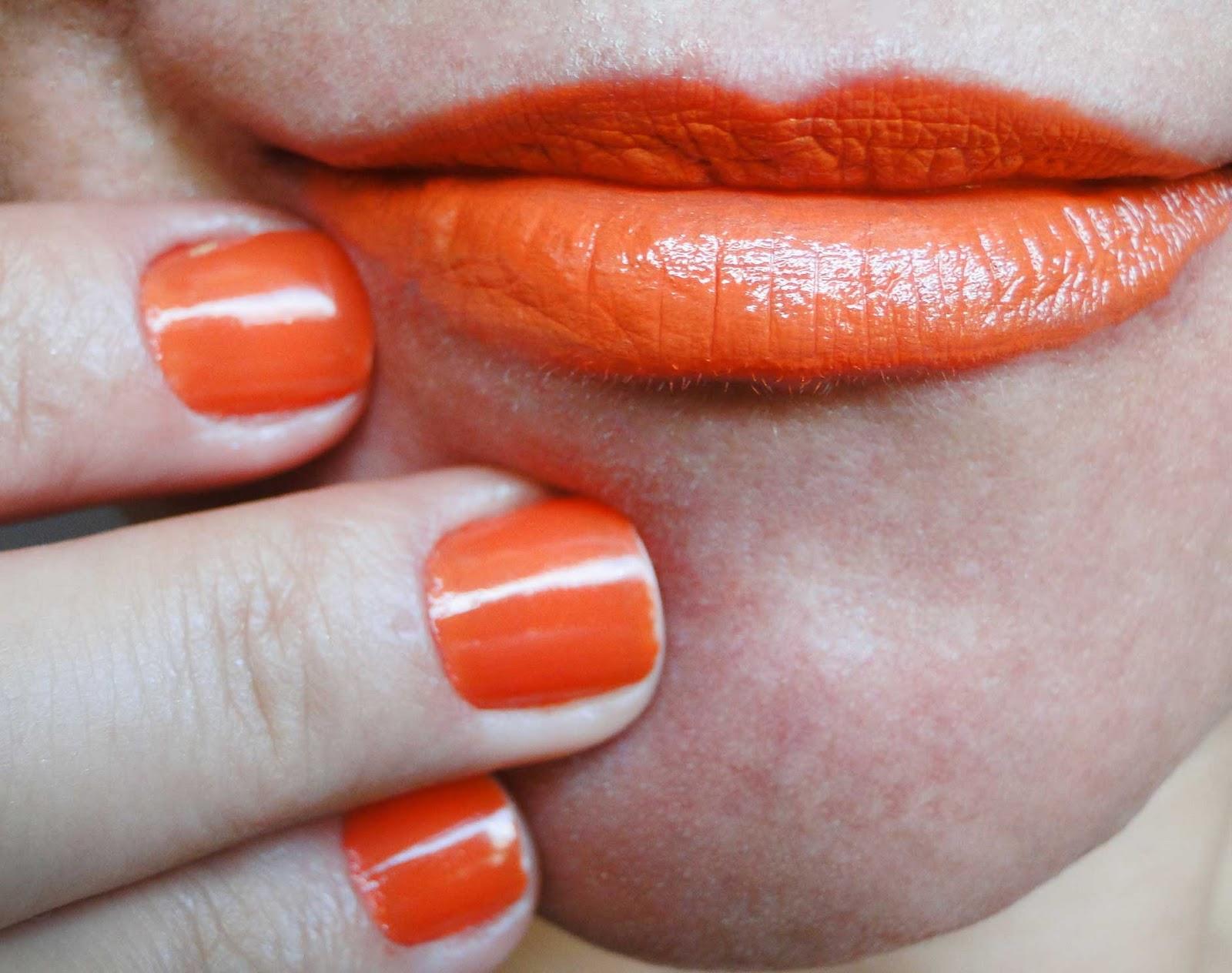 verniz para unhas laranja Clasf